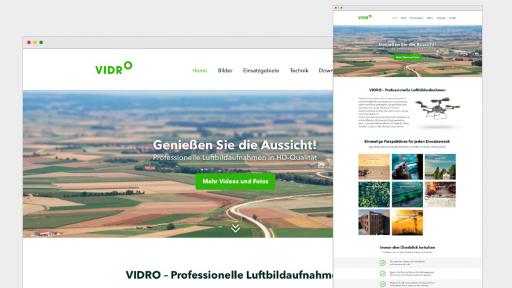 2-vidro-website